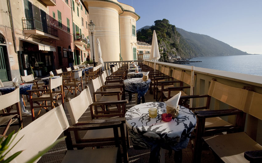 Restaurant in Camogli