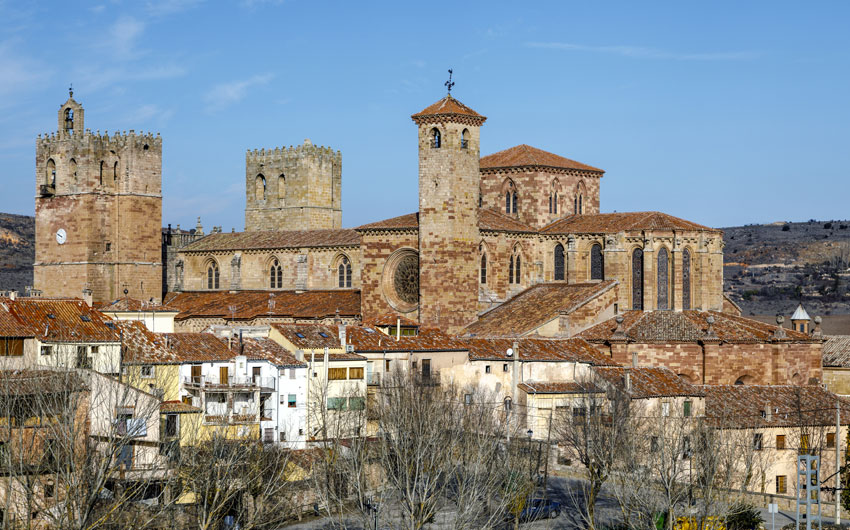 St Mary Cathedral in Siguenza