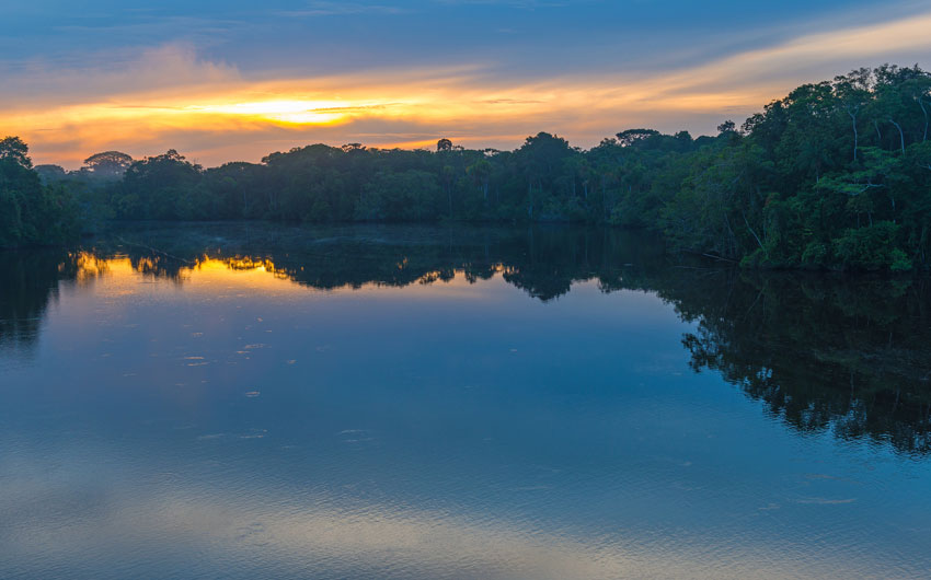 Amazon River Sunrise