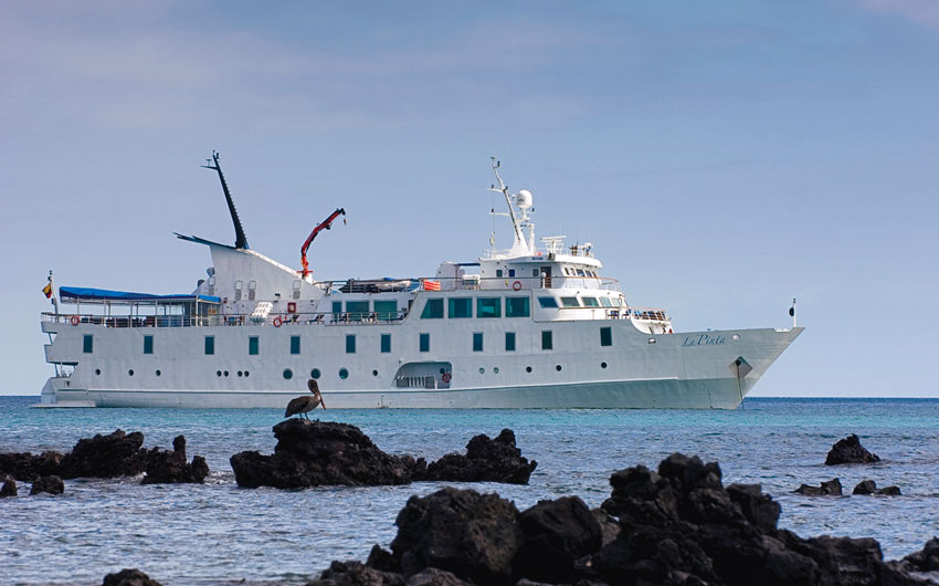 CRUISING THE GALAPAGOS ISLANDS-LA PINTA