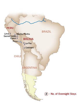 Argentina Map  for ARGENTINA FROM PATAGONIA TO THE FALLS