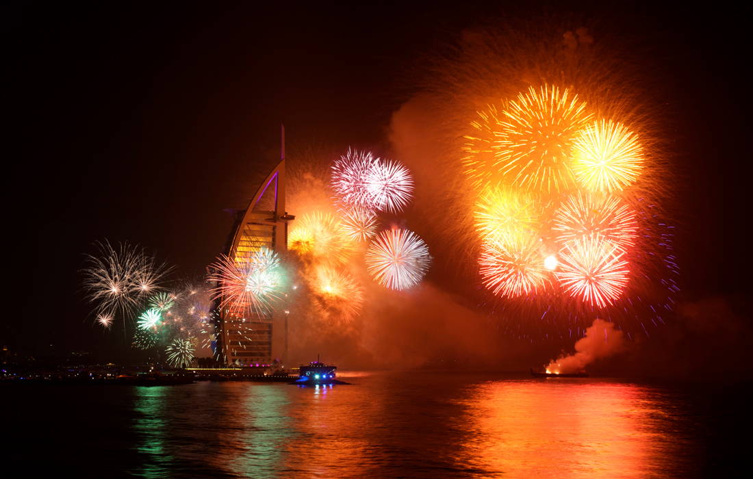 Ring in the New Year in Dubai