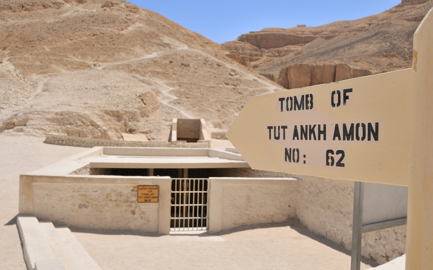Tomb of Tutankhamon in Valey of the Kings, Luxor