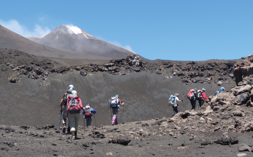 TREKKING ON SICILIAN VOLCANOES: ETNA AND AEOLIAN ISLANDS