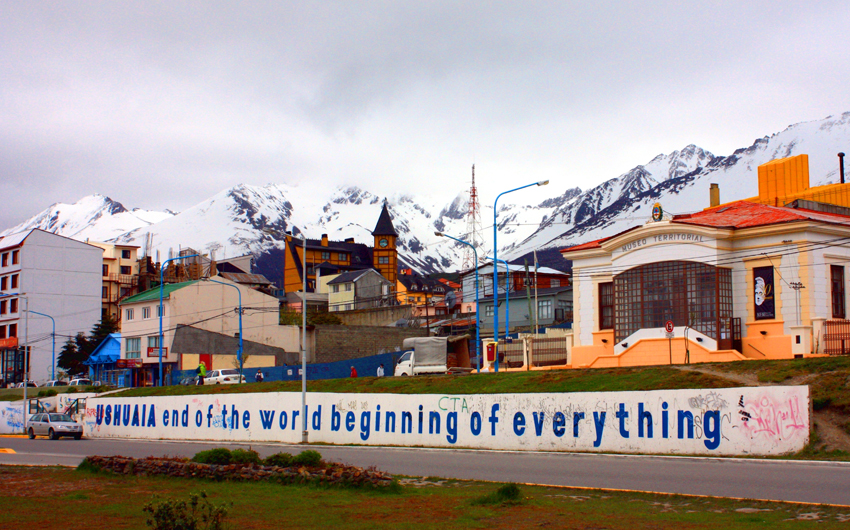 Ushuaia is the capital of Tierra del Fuego Province,