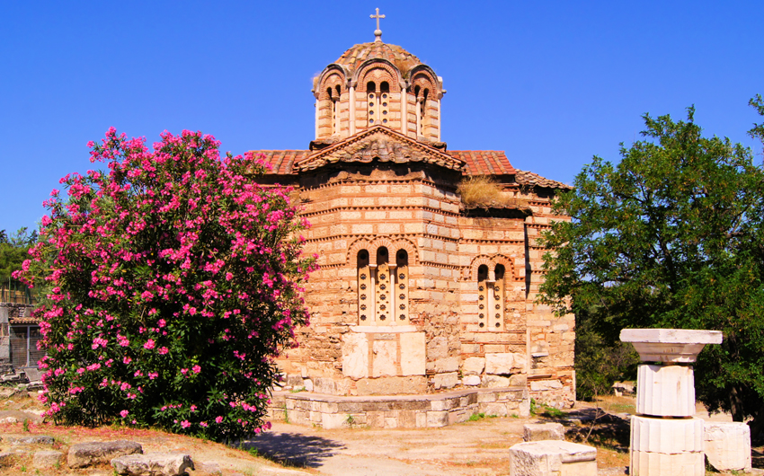 Historic Byzantine-era church, Athens