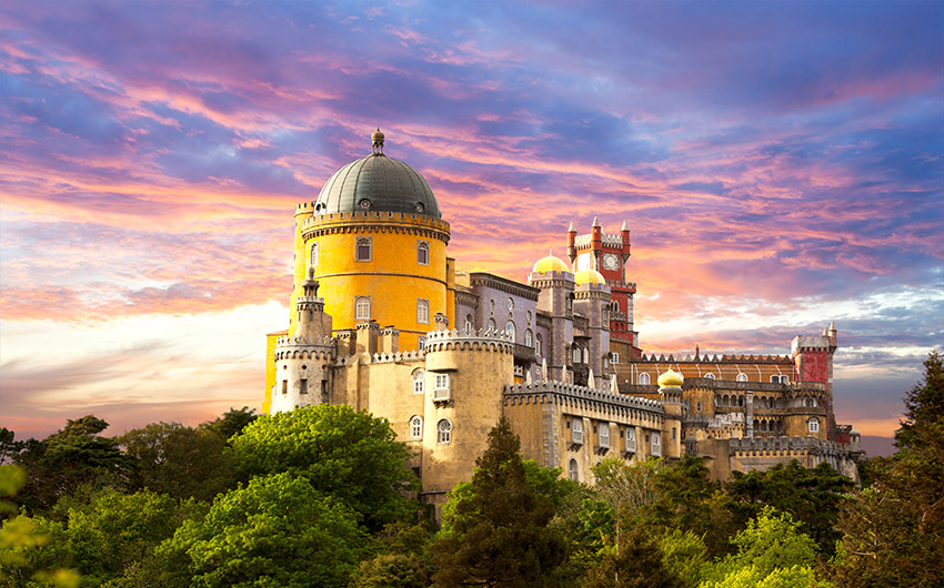Pena Palace- Sintra, Portugal